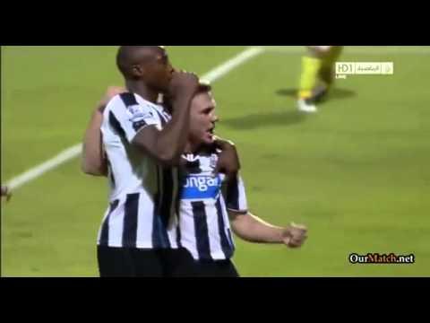 Morecambe 0 2 Newcastle United Goals from Shola Ameobi & Sammy Ameobi