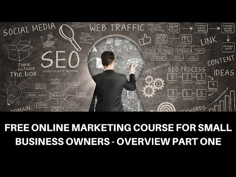 Free Online Marketing Course Intro - Small Business Marketing Strategies Overview