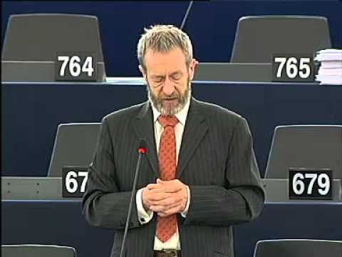 Sean Kelly MEP speaking on Labour conditions and health and safety standards in Bangladesh