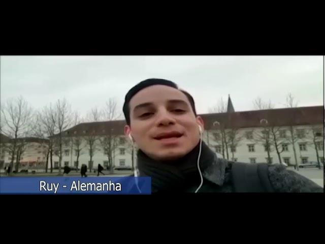 Ruy, da Alemanha, agradece pelo alimento da Palavra.