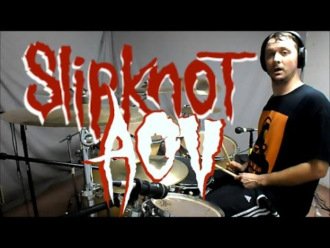 SLIPKNOT - AOV - Drum Cover thumbnail