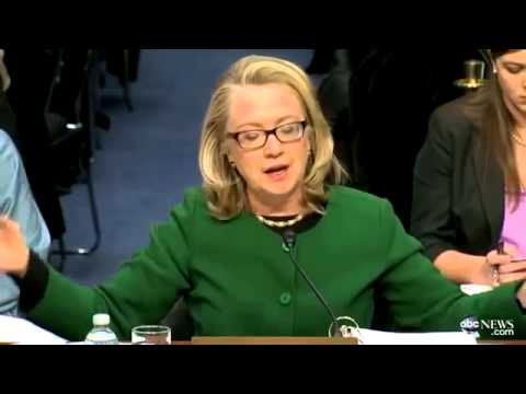 Hillary Clinton`s Fiery Moment at Benghazi Hearin