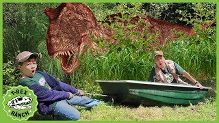 T-Rex Dinosaurs & Dinomaster Are Back! Epic Dinosaur Adventure, Dino Eggs & Kids Pretend Play Toys