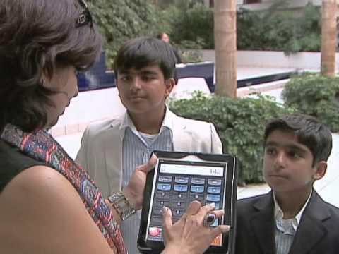 Niños hindúes, genios matemáticos