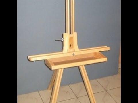 Caballete de madera plegable para trabajo de campo o de - Caballetes de madera ...