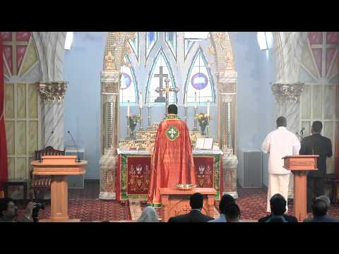 Malankara Mar Thoma Syrian Church Holy Qurbana By Rev. Jacob Varghese Part1 video