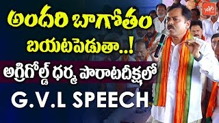 BJP Leader GVL Narasimha Rao Aggressive Comments on AP CM Chandrababu Naidu