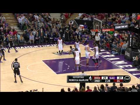 Darren Collison Highlights Rockets vs. Kings 12.11.2014 - 24 Points, 7 Assists