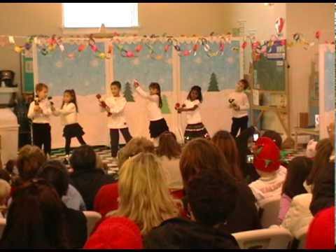 Kindergarten Christmas Dance.avi video