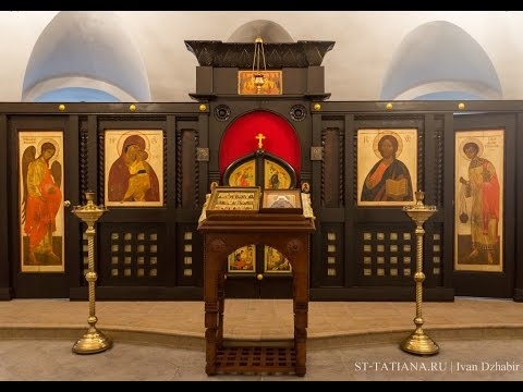 (ВИДЕО) Обновление (освящение) храма святителя Филарета
