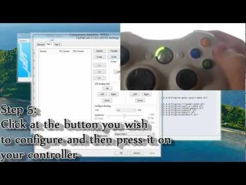 PCSX2 Guide - Configure a controller
