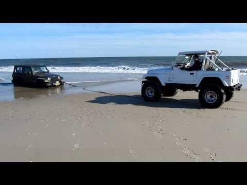 Robert Moses Democrat point JK Jeep extraction Cummins 4BT CJ-7 stuck