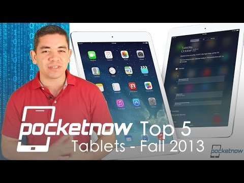 Top 5 Tablets Fall 2013