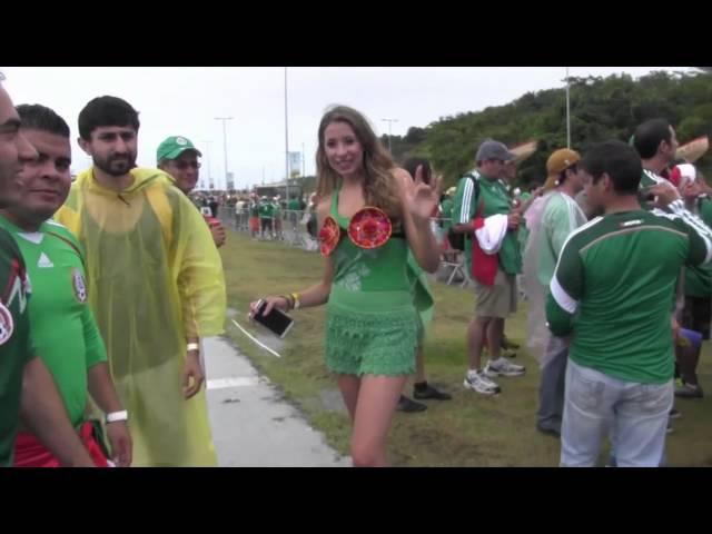 iVillage Mujer / Mujeres en el Mundial: su belleza y pasión durante la copa del mundo en Brasil