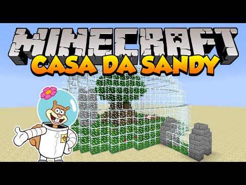 Minecraft: Como construir a Casa da Sandy Bob Esponja