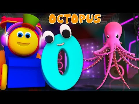 Phonics Letter O | Learning Street With Bob The Train | ABC | Alphabets Videos For Babies by Kids Tv