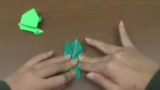 Comm. English Musings: Origami Girls: Frog