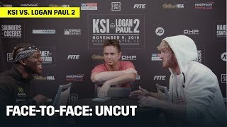 FACE-TO-FACE | KSI vs. Logan Paul 2