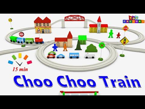 Choo Choo train - train cartoon for children - train videos for kids - cars and trucks cartoons