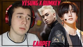 Music Critic Reacts To Yesung X Bumkey Carpet