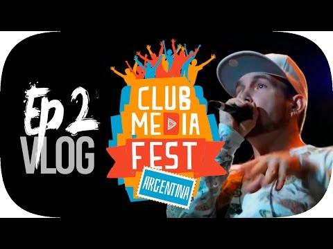 EPIC VLOG EN ARGENTINA CLUB MEDIA FEST | Persecución en carretera EP. 2