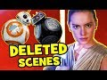 Star Wars The Last Jedi DELETED SCENES & Rejected Concepts Explained