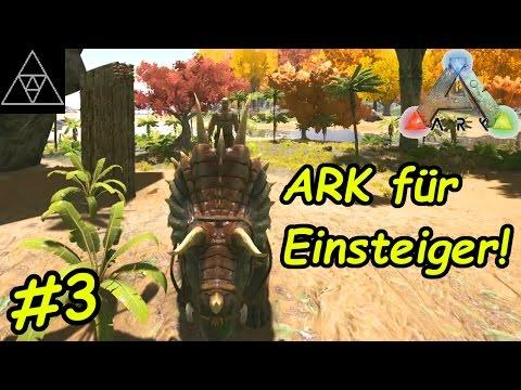 ARK Anfänger Guide #3 ► Tiere zähmen! Was ist Torpor? Dino Gehege bauen!
