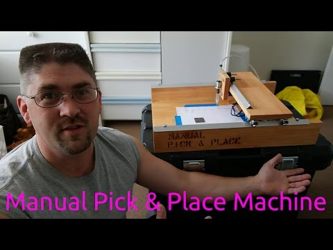Manual Pick & Place Machine For SMD Assembly