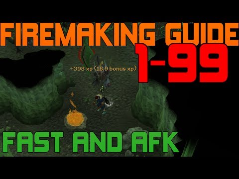 1-99 Firemaking Guide Runescape 2014 - Fast and Cheap Methods [P2P]
