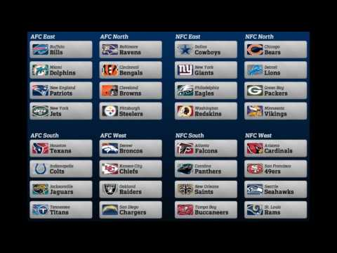 Division Winners NFL
