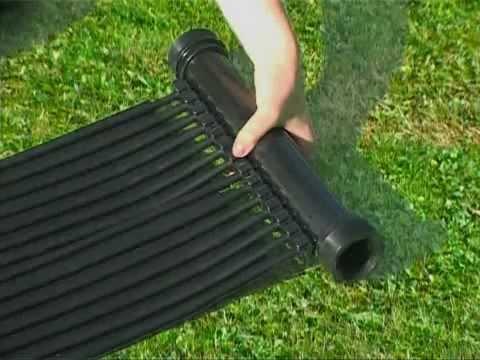 Chauffage solaire for Chauffer piscine gratuitement