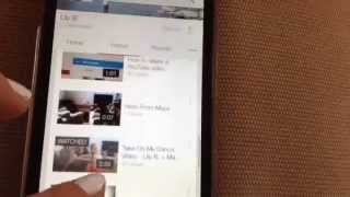 How to delete a YouTube video on an iPhone