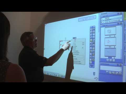 Hitachi Interactive Projector Demonstration