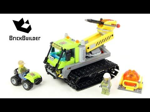 Lego City 60122 Volcano Crawler - Lego Speed Build