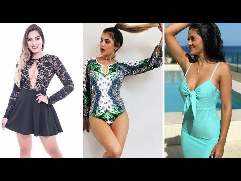 Latest Summer fashion style fashion model Fashion designer