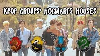 Sorting KPop Groups Into Hogwarts Houses #1 [Got7, Day6, Infinite]