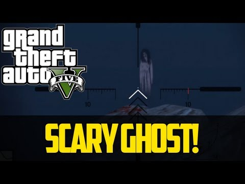 SCARY GHOST EASTER EGG GTA 5 - Best Grand Theft Auto 5 Easter Eggs and Secrets!