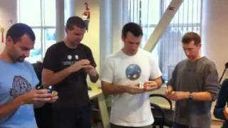 RockMelt Offices Today - Cubing Race