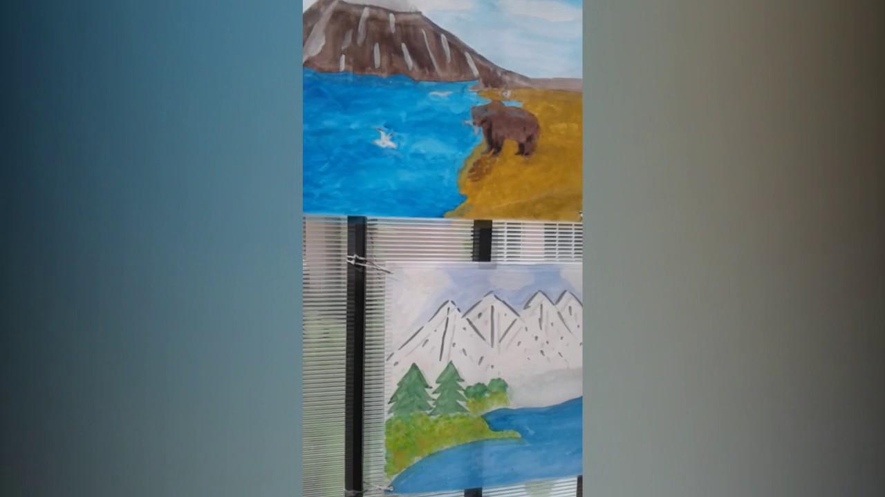 Рисунки детей флаг родины моей