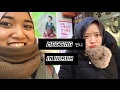 Korea Winter Trip 2017   Putting on Hijab for Korean Lady .Explore Insandong
