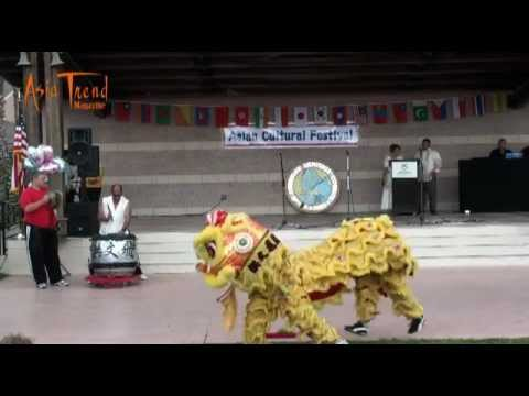 Hung Fut Pai Lion Dance - Asian Cultural Festival 2012