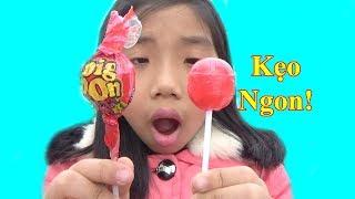 Ăn Kẹo Mút ChupBom Cực Ngon❤ Baby channel❤