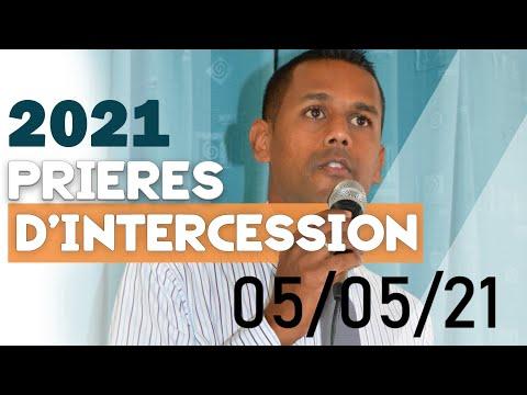 Prière d`intercession : Moment de partage du 05/05/2021