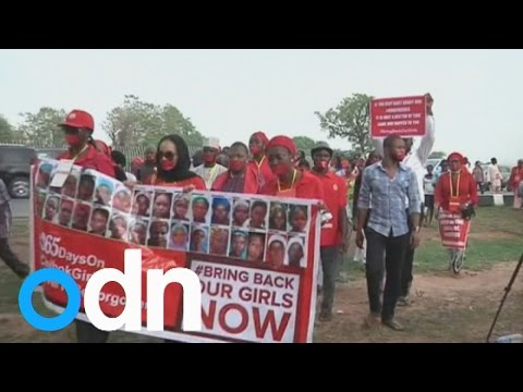 Protests held for Nigerian schoolgirl abductions one year on