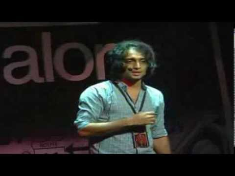 Road less traveled: Nikhil DSouza at TEDxSIBMBangalore