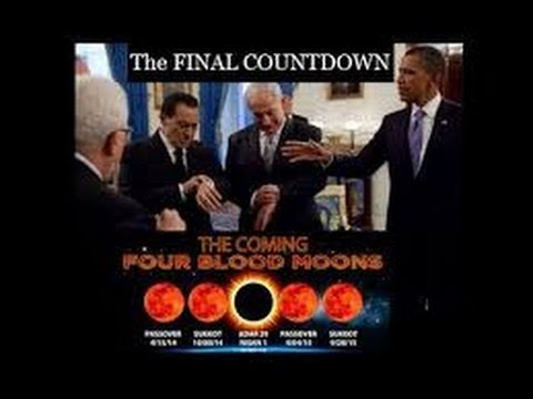 Blood Moon Lunar Tetrads(4)-2014-Latest Update-Peace Negotations & Tribulation Time