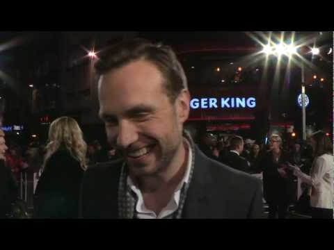 I Give It A Year -- European Premiere Interviews - Rafe Spall, Rose Byrne, Simon Baker
