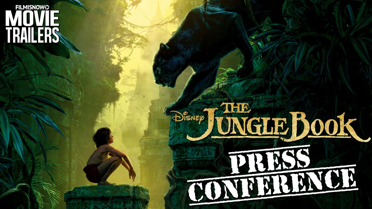 The cast of THE JUNGLE BOOK discuss the movie | Global Press Conference [HD]