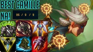 CAMILLE ONE TRICK CARRIES EVERYONE TO VICTORY! - League Of Legends