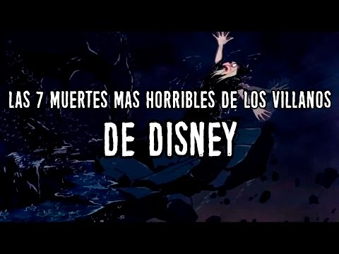 Las 7 muertes m�s horribles de villanos de Disney